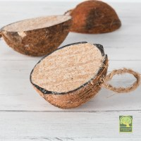Laverock Bird food - Coconut Halves-2